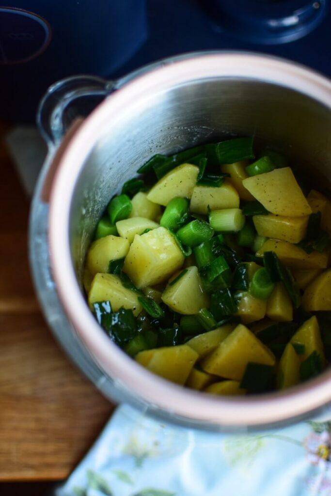 Dziękuję Było Pyszne zupa z pora i ziemniaka