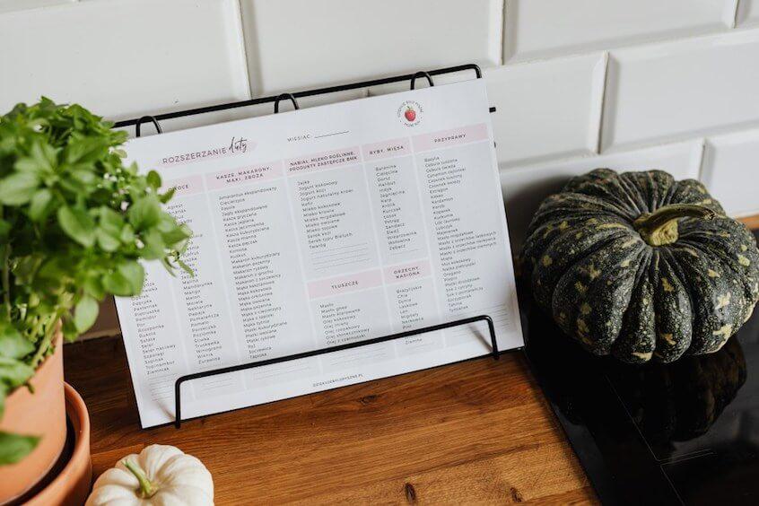 Lista Rozszerzenia Diety