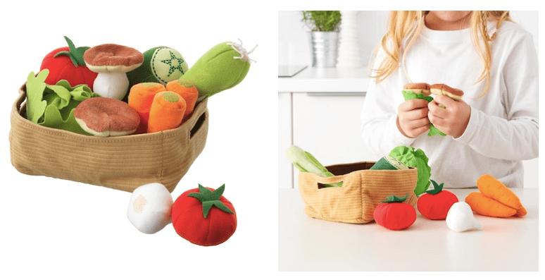 IKEA kosz z warzywami