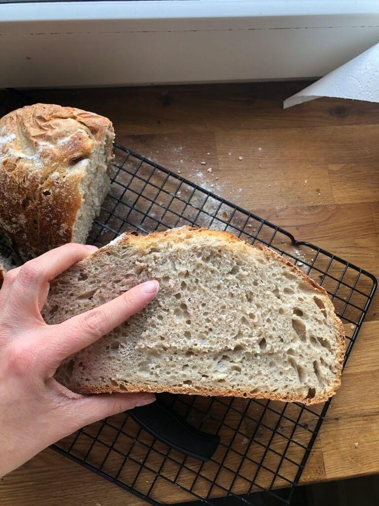 Dziękuję Było Pyszne chleb