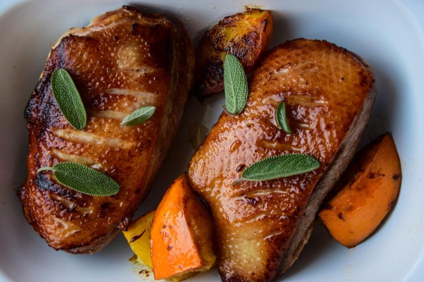 DziękujęByło Pyszne kaczka w pomarańczach