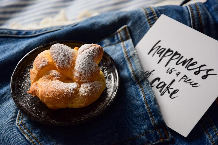 Dziękuję Było Pyszne najlepsze ciasto ptysiowe