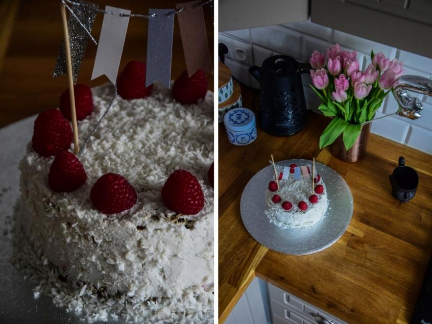 DziękujęByło Pyszne tort bez glutenu, nabiału i cukru