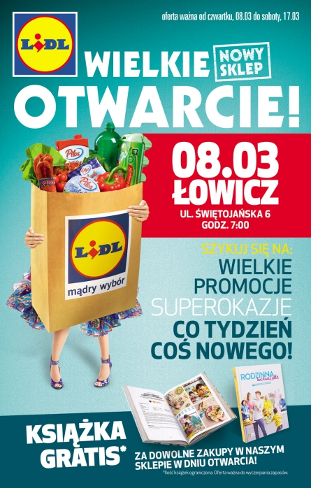 Lidl otwarcie w Łowiczu