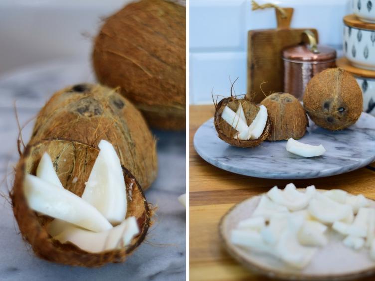 Dziękuję Było Pyszne mleko kokosowe