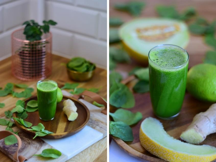 Dziękuję Było Pyszne zielony sok oczyszczający