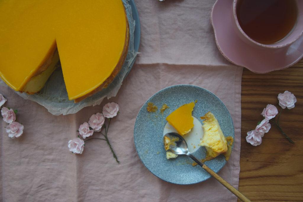 Dziękuję Było Pyszne sernik mango