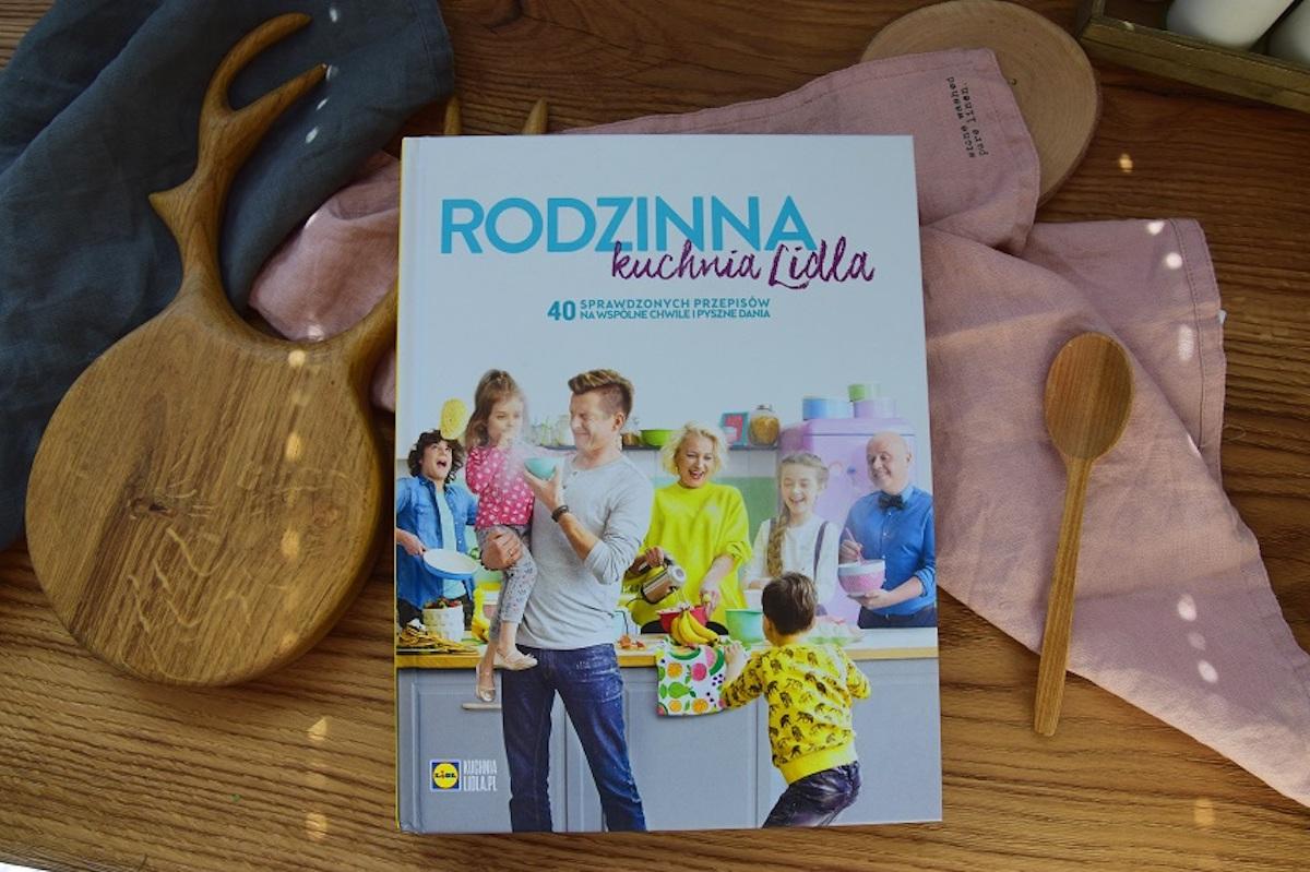 Dziękuję Było Pyszne książka Rodzinna Kuchnia Lidla