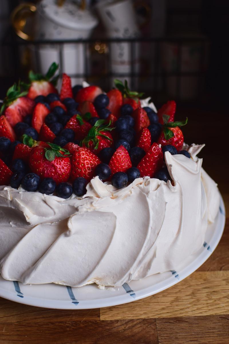 Tort bezowy pavlova dziękuję było pyszne