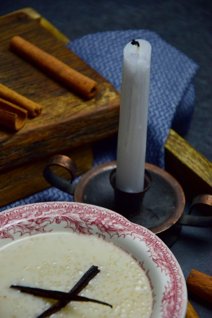 Dziękuję Było Pyszne pudding z tapioki z wanilią